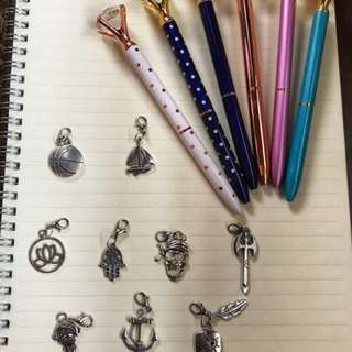 Notebook Charms