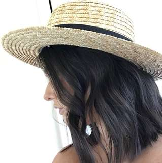 Lack Of Colour Straw Hat