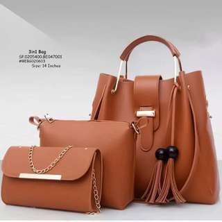3in1 bag size : 14 inches