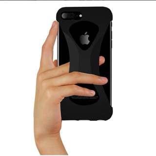iPhone 7Plus/8Plus 黑色電話套