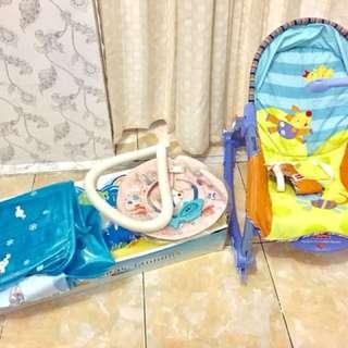 Bouncer & Kolam baby spa