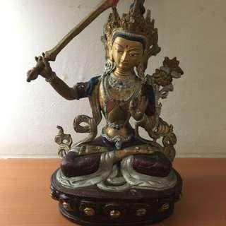 Tibetan Manjusri Statue