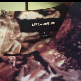 Life with Bird dress size 1 (Au8)