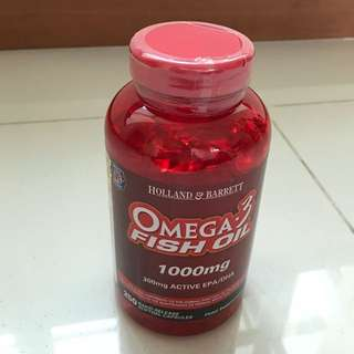 Brand New Holland and Barrett Omega 3 Fish Oil @ $65