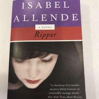 Ripper -novel by Isabel Allende
