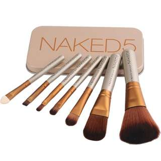 Make Up Brush naked 5 and hello kitty in stock