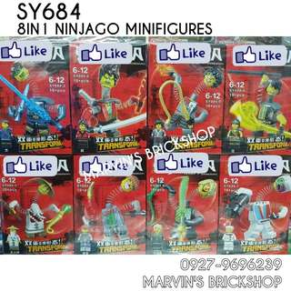 For Sale NINJAGO 8in1 Minifigures