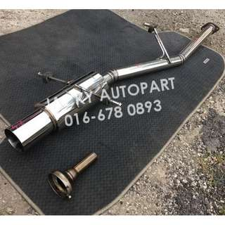 "Exhaust Muffler Jdm Performance w Silencer 2.3"" Jp"