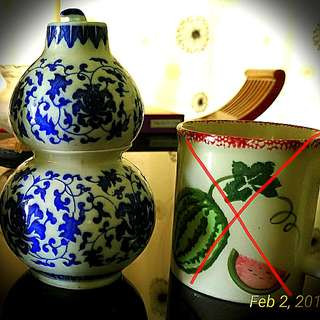 Chinese antique x 2 units