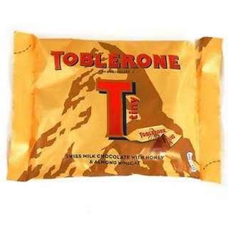 Toblerone Tinys (Yellow/White/Dark)