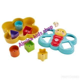 Sale !!! Mainan Fisher Price Butterfly Shape