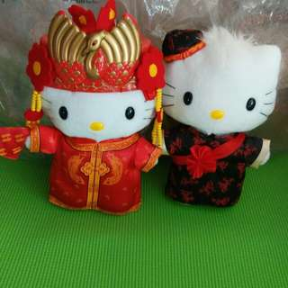 McDonald's Hello Kitty & Dear Daniel - Chinese wedding Fashion (2001 Edition)