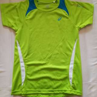 Asics t shirt (dry fit). Lady Small size