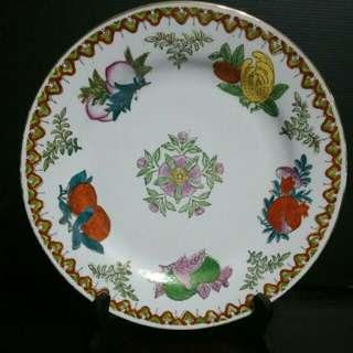 2pcs Vintage Porcelain Plate