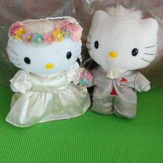 McDonald's Hello Kitty & Dear Daniel - Bride and Groom (2001 Edition) *