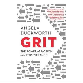 Grit by Angela Duckworth (Hardback)