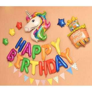 (In Stock)Little Pony Party Decoration Set