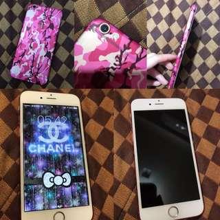 🚚 iPhone 6s 64G 玫瑰金 100%女用機❤️