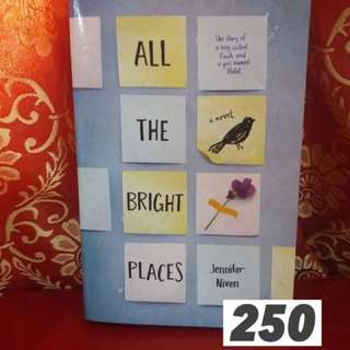 All the Bright Places Jeniffer Niven