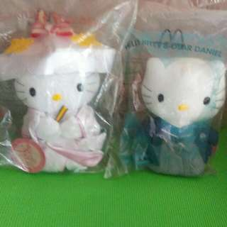McDonald's Hello Kitty & Dear Daniel - Japan King & Queen (2001 Edition)