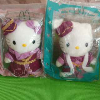 McDonald's Hello Kitty & Dear Daniel - France King & Queen (2001 Edition)