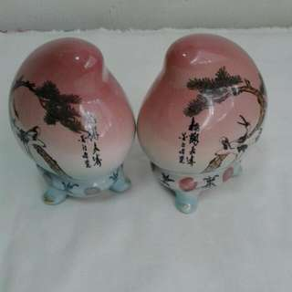 Porceline Longevity Decorative