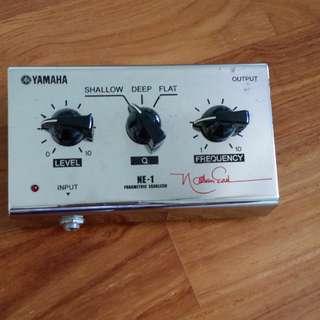 Ne - 1 yamaha  bass pedal.