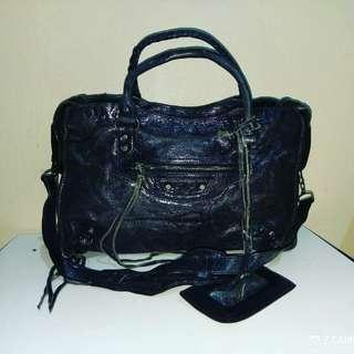 Shoulder/ Tote Bag Leather Unbrand