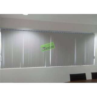 Vertical Blinds - office furniture - partition