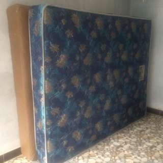 Spring bed + dipan (160x200)