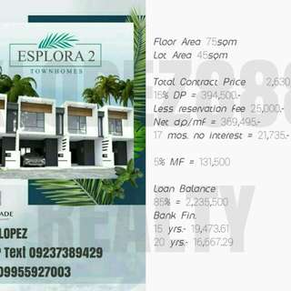 House and Lot (Antipolo Bayan) 16k monthly!!