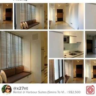 Rental @ Harbour Suites