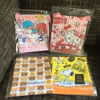 🔥Limited stocks🔥Drawstring bag / goody bag 6 designs