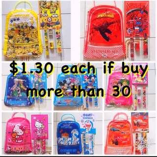 Children Goodie Bag / Stationery Set / Goody Bag /