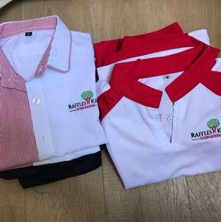 Raffles Kidz Uniform & PE set