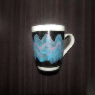 Handpainted ceramic mug