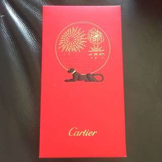 Cartier red packets 2017