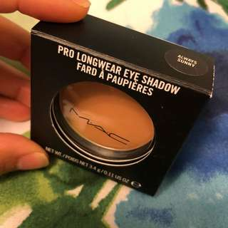 MAC dark nude eye shadow