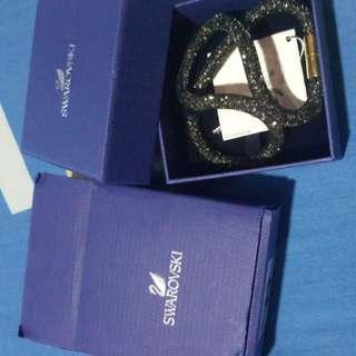 Swarovski 40cm Bracelet (black gold)