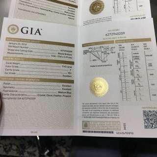 0.62ct GIA f vs1 3ex - VALENTINE DAY PROMO GIA ❤️