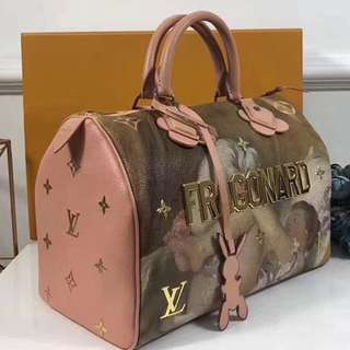 LV Masters Collection Speedy
