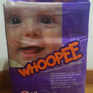 [NEW] Whopee diapers M size