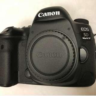 Canon 5D Mark IV body /Lens