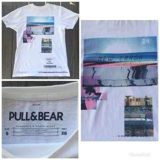 tshirt pull&bear fit S-M