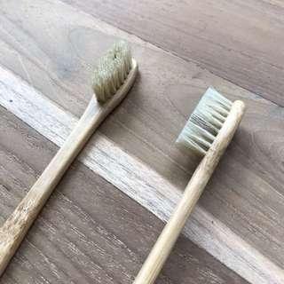 Boar Bristles Bamboo Toothbrush