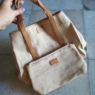 SK II canvas bag