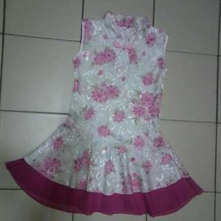 Girl Cheongsam Dress
