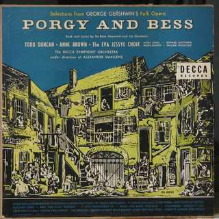 Porgy and Bess vinyl LP