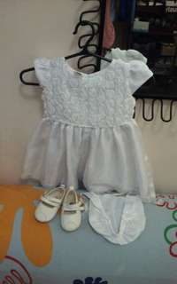 Baby Christening dress set