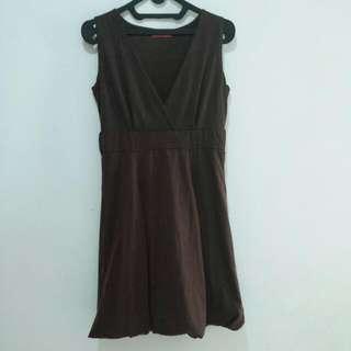 Dress Coklat THEORY X